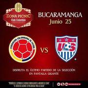 Colombia Vs Estados Unidos, Por El Honor En La #Zona Picnic Club   Bucaramanga