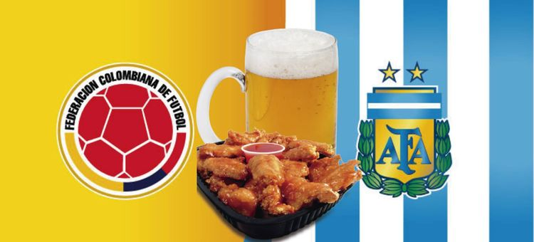 4113 lugares con promociones para ver el partido de colombia argentina