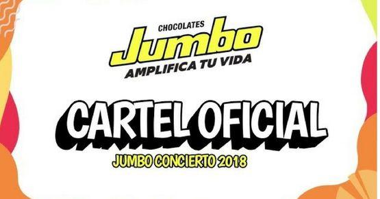 1741 artistas para el jumbo concierto 2018