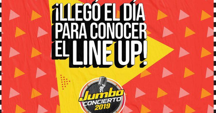 4230 artistas jumbo concierto 2019