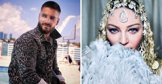 Maluma & Madonna Juntos En Medellín