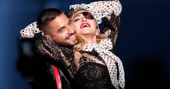Madonna & Maluma Brillan En Los Billboard Music Awards