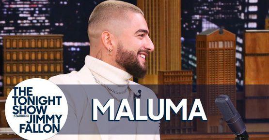 Maluma En El Show De Jimmy Fallon