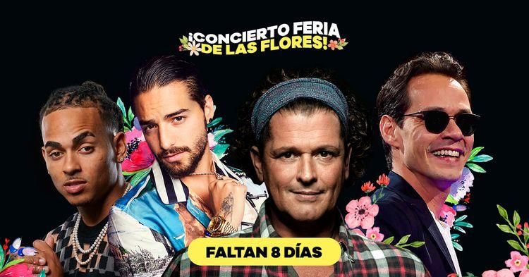 3633 conciertos feria de las flores 2019