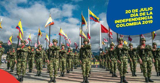 Prográmate Con El Desfile Del 20 De Julio En Bogotá
