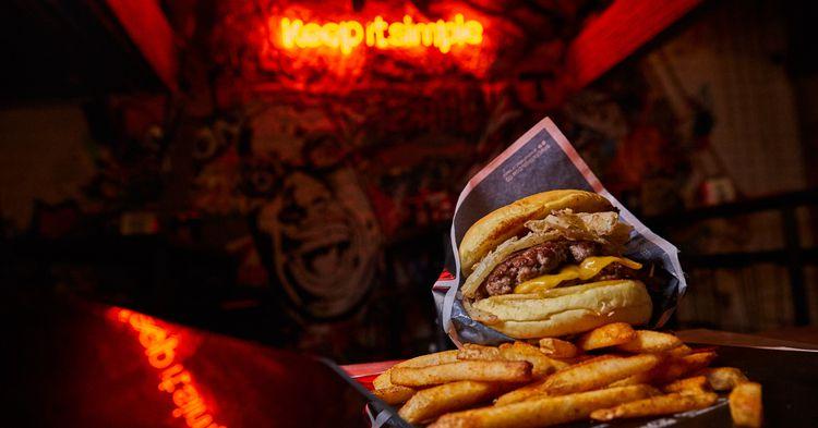 5533 burger shop el restaurante de la hamburguesa honesta