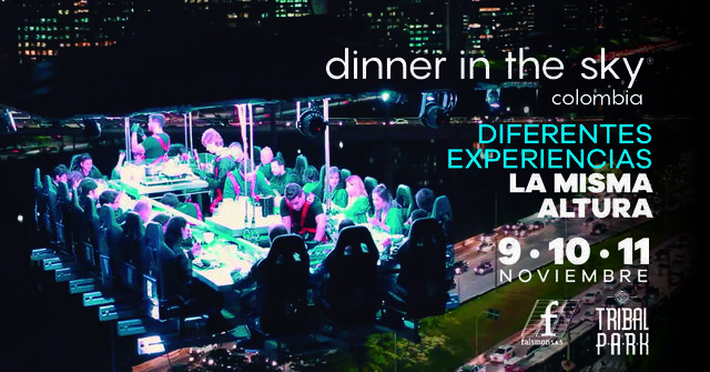 Dinner In The Sky Lunes