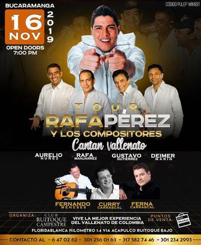 Tour Rafa Pérez y los compositores