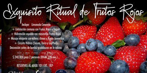 Exquisito Ritual de Frutos Rojos