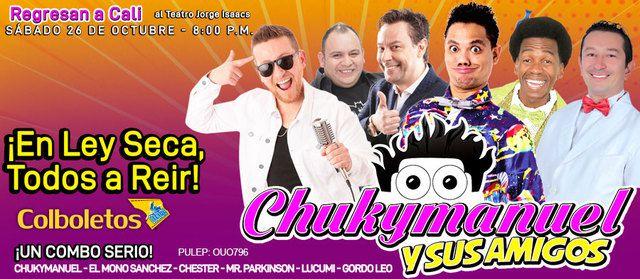 Chuky Manuel y sus amigos