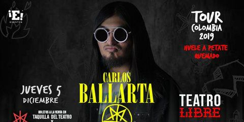 CARLOS BALLARTA, TOUR COLOMBIA 2019