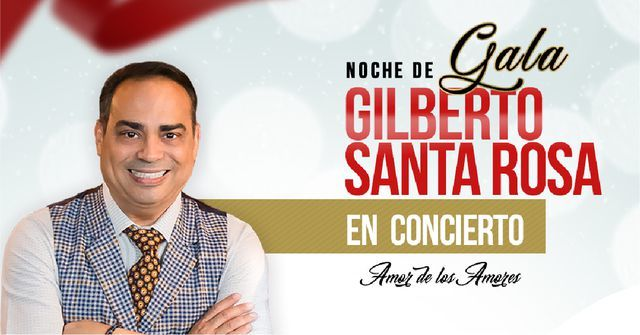 Gilberto Santa Rosa en Bucaramanga