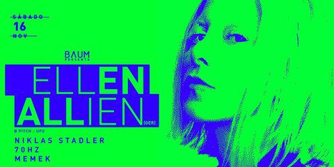 Ellen Allien at Baum