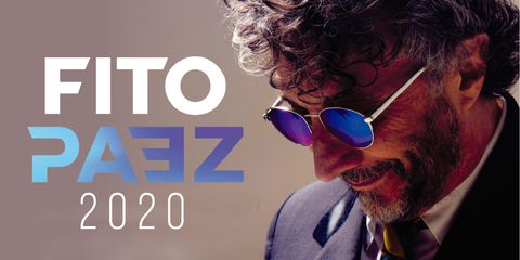 FITO PAEZ LLEGA A COLOMBIA EN EL 2020