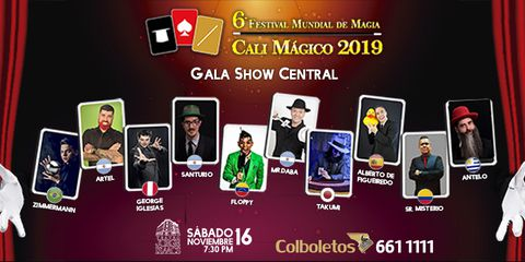 6to Festival Mundial de Magia - Cali Mágico 2019