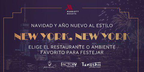 Disfruta un plan diferente este 25 y 1 de enero en Pimento - Marriott Bogotá