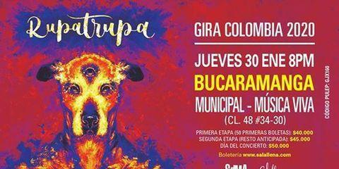 Rupatrupa en concierto - Bucaramanga