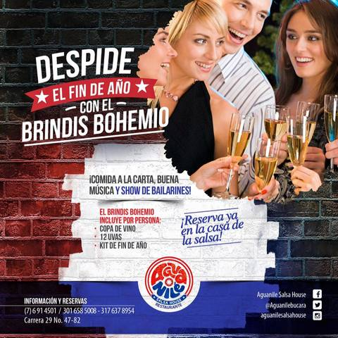 BRINDIS BOHEMIO