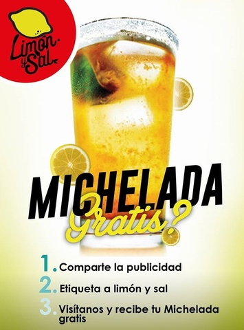 MICHELADAS GRATIS
