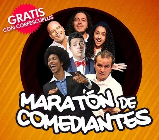MARATÒN  DE COMEDIANTES
