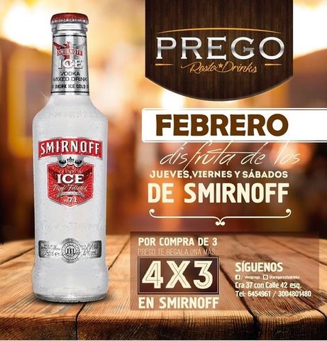 4x3 SMIRNOFF