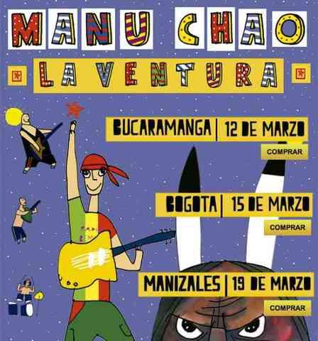 MANU CHAO & LA VENTURA EN BOGOTÁ