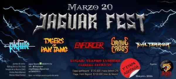 Jaguar Fest (Picture/Tygers of Pantang/Enforcer/Grave cross)