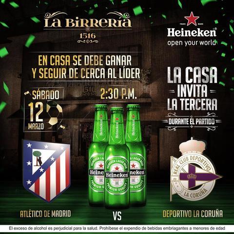 ATLÉTICO DE MADRID VS DEPORTIVO LA CORUÑA