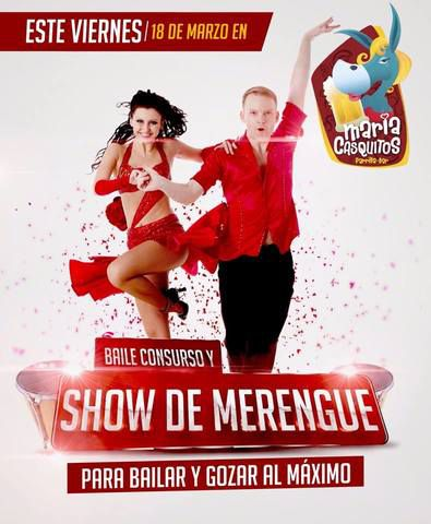 SHOW DE MERENGUE