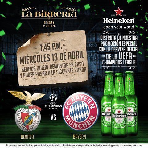 Benfica vs Bayern