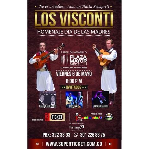 Los Visconti en Plaza Mayor - 6 de Mayo