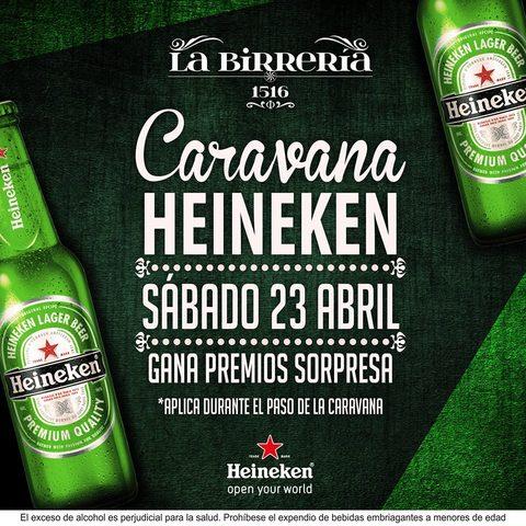 Caravana Heineken