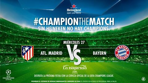 Atlético de Madrid vs Bayern