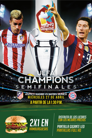 Atlético de Madrid vs Bayern Munich