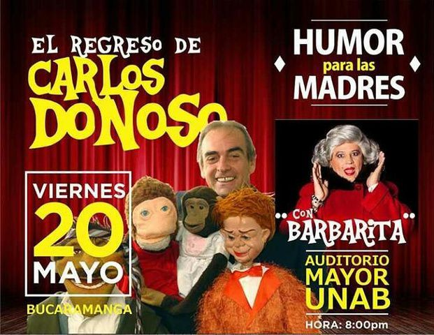 Comedia con Carlos Donoso y Barbarita