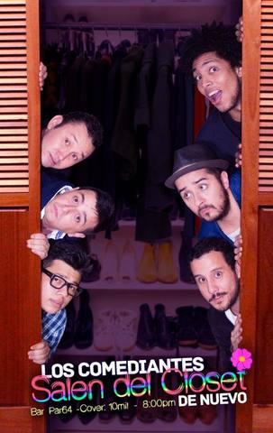 Los comediantes salen del closet