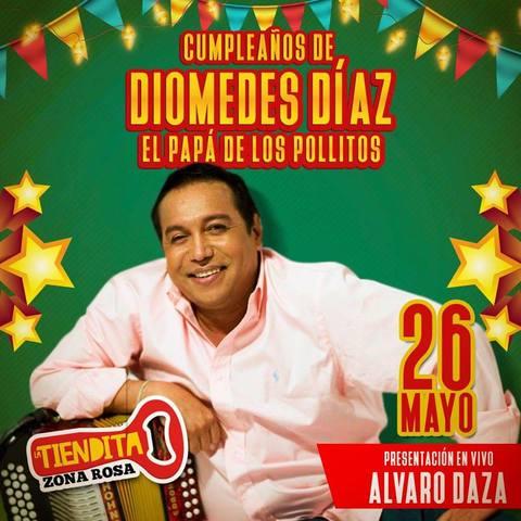 Cumpleaños Diomedes Díaz