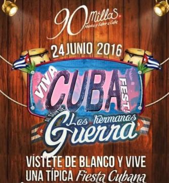 Festival típico Cubano