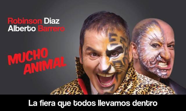 """Robinson Diaz y Alberto Barrero """" Mucho Animal"""""""