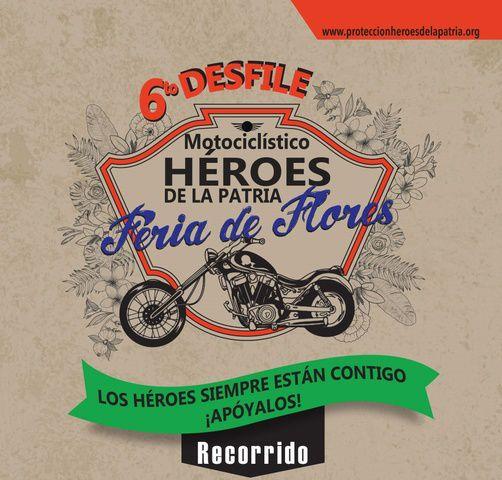 VI Desfile de motos clásicas y antiguas