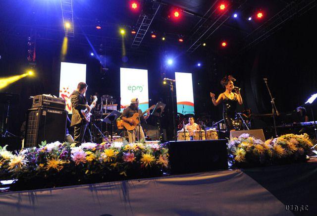 Parque cultural nocturno  Música del mudo