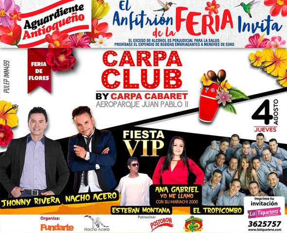Carpa club Fiesta VIP