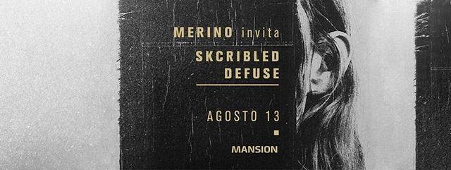 Merino invita: Skcribled, Defuse