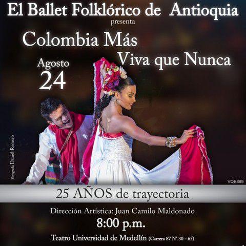 El ballet folklórico de Antioquia
