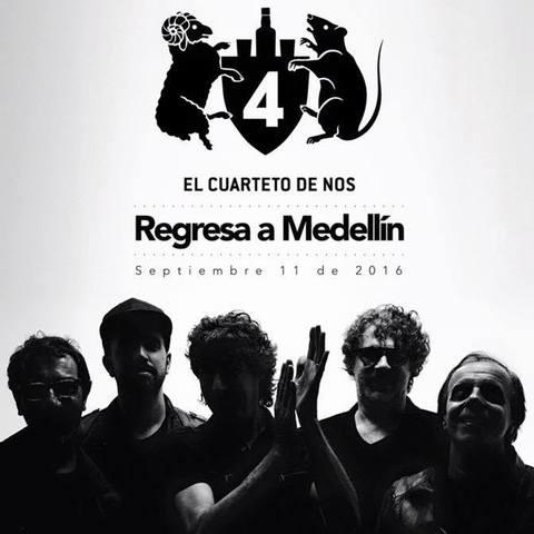 El cuarteto de nos, en Medellín