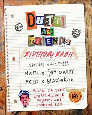 Dutty and Friends