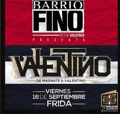Valentino en Medellín