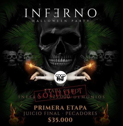 Inferno: Halloween party