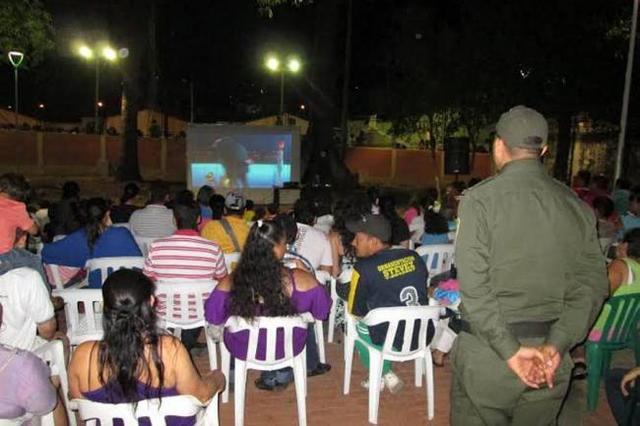 Cine al Parque Café Madrid