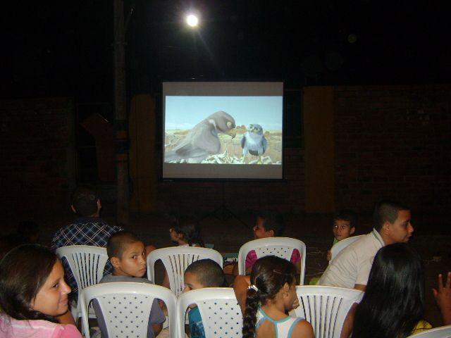Cine al parque la Inmaculada